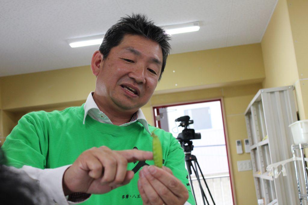 多摩・江戸東京野菜研究会 代表 福島秀史