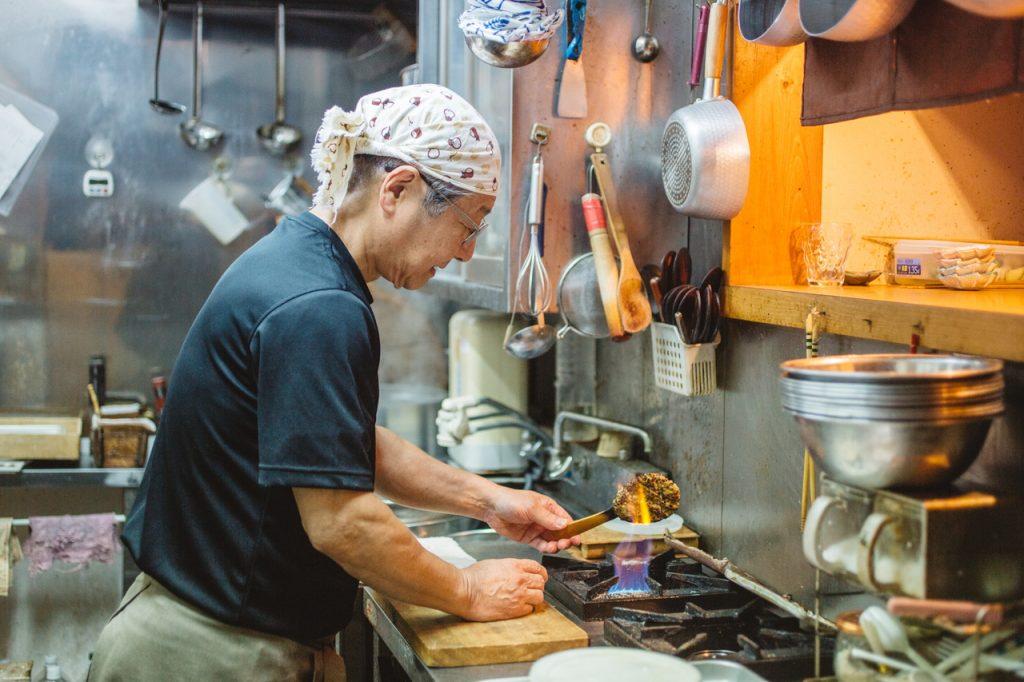 手打蕎麦いっこう 焼き味噌