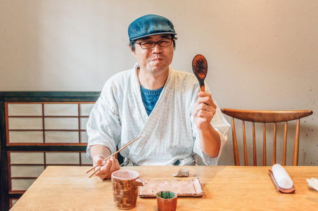 手打蕎麦いっこう 焼き味噌 今朝さん