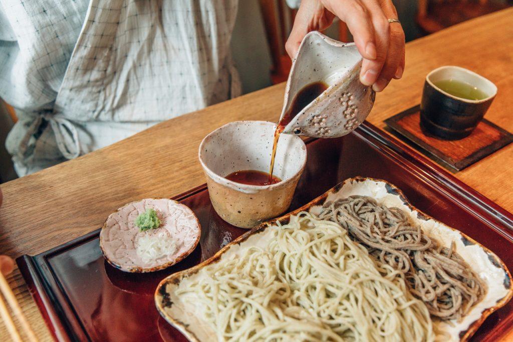 手打蕎麦いっこう 3種盛り蕎麦