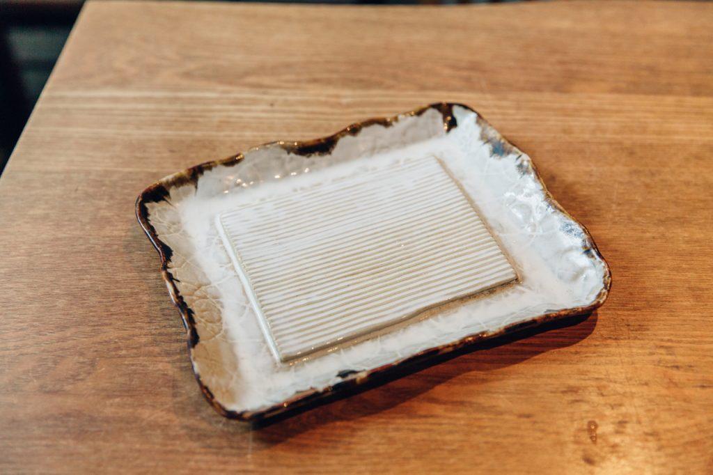 手打蕎麦いっこう 美の壺で取材された蕎麦ざら
