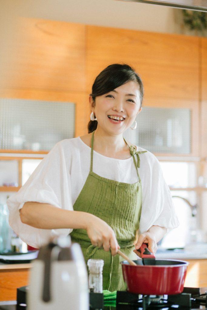 ハレノヒ食堂オーナーシェフ 小俣由枝さん