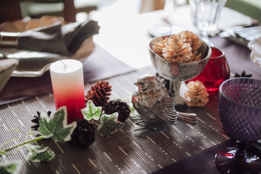 ハレノヒ食堂 食卓の装飾品