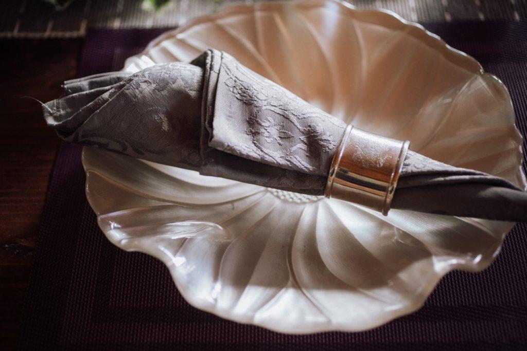 ハレノヒ食堂 食卓のナプキン