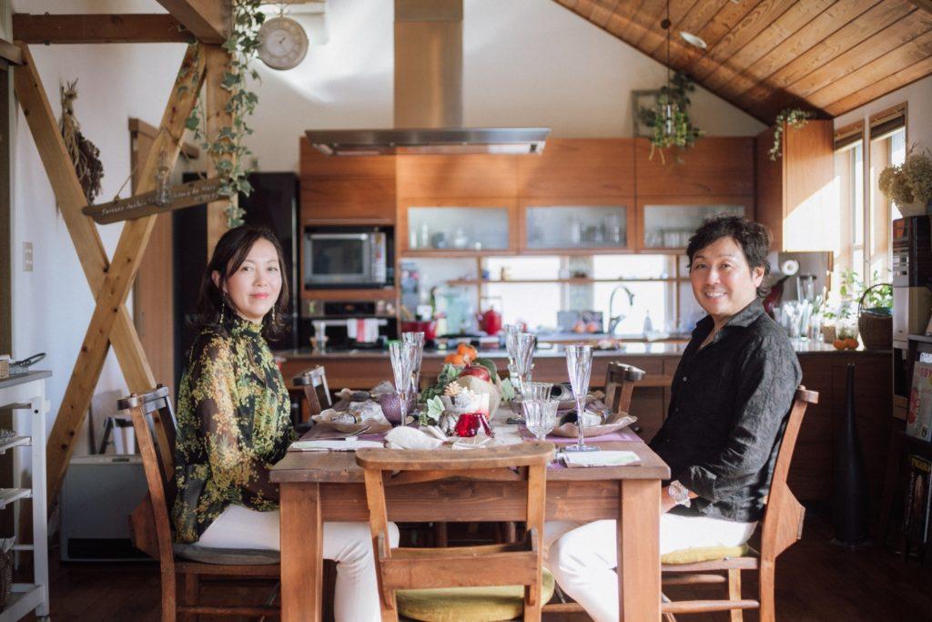 タンタンコーポレーション 代表取締役 丹澤誠二さん 丹澤晴美さん夫妻