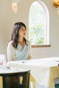 小山美智代さん対談風景