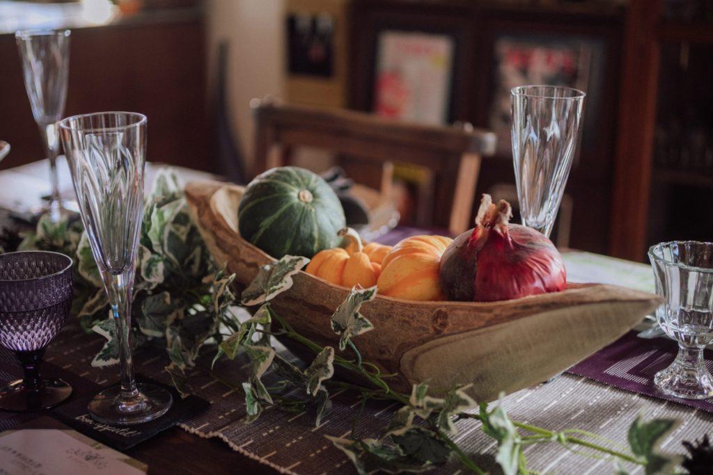 ハレノヒ食堂 食卓の野菜
