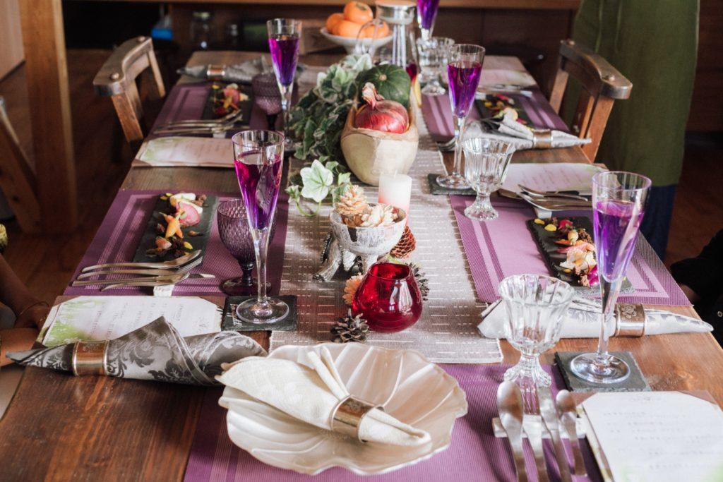 ハレノヒ食堂 食卓